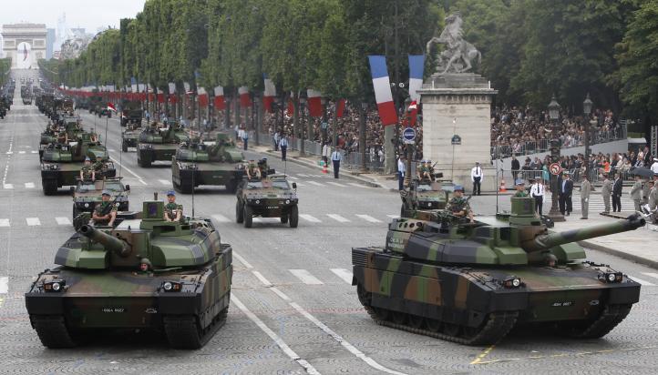 Francia conmemora el centenario de la Primera Guerra Mundial