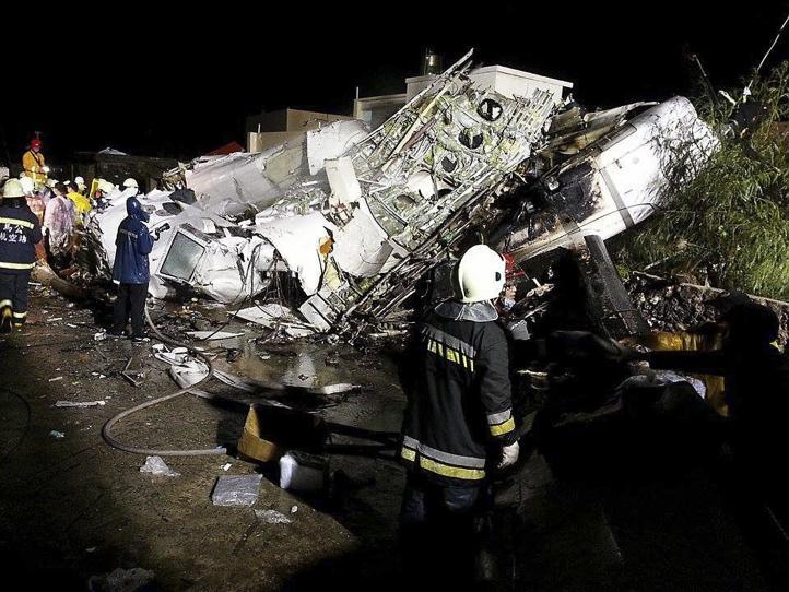 Al menos 51 muertos en aterrizaje fallido en aeropuerto de Taiwán