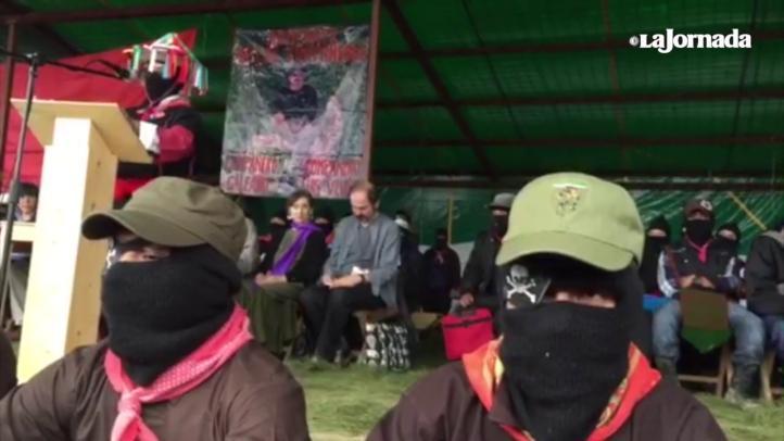 Homenaje del EZLN a Luis Villoro y Galeano