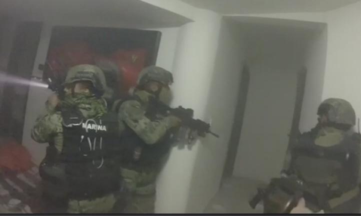 """Operativo de La Marina para recapturar a """"El Chapo"""""""