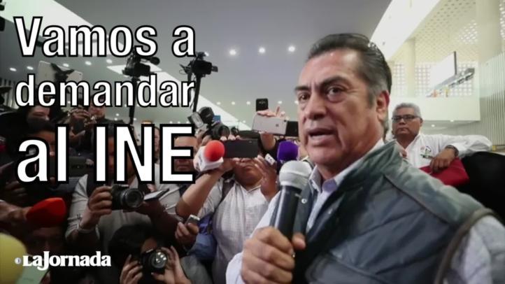 """""""Vamos a demandar al INE"""": El Bronco"""
