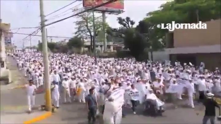 Tamaulipecos vuelven a las calles para exigir fin a la violencia