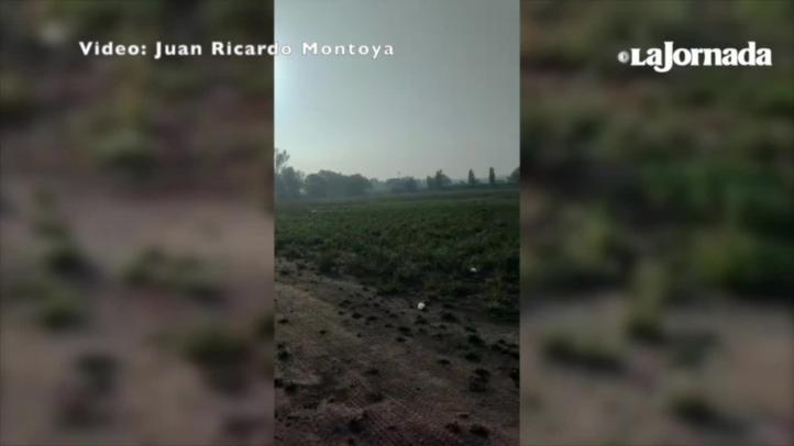 Colocan mausoleos en el sitio de la explosión de un ducto en Tlahuelilpan