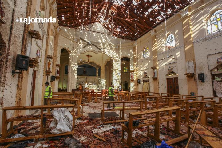 Una serie de atentados golpeó a Sri Lanka