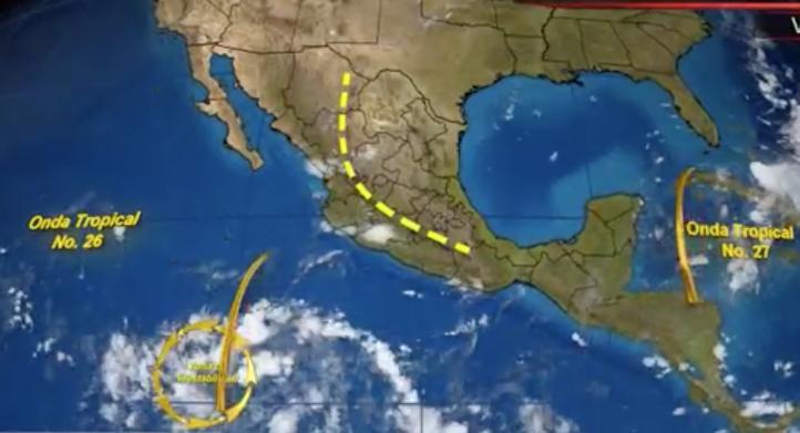 Pronóstico del tiempo para el 9 de septiembre