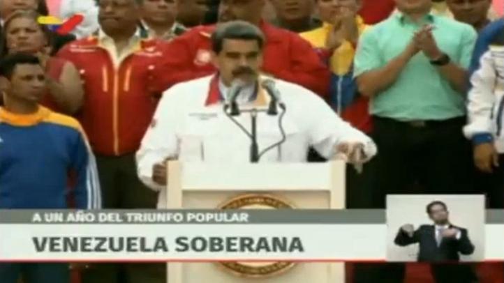 Maduro anuncia elecciones anticipadas a la Asamblea Nacional