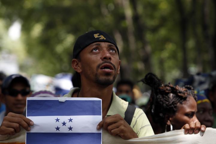 Viacrucis migrante llega al DF