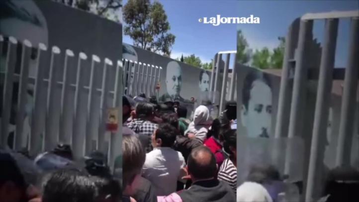Desalojan policías a diputados electos de Morena en Hidalgo