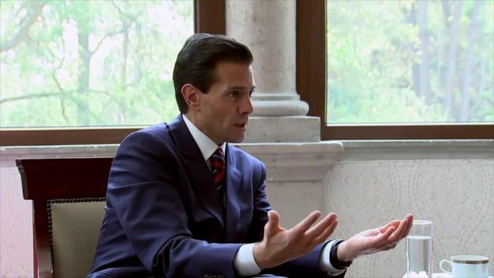 Entrevista al presidente Enrique Peña Nieto