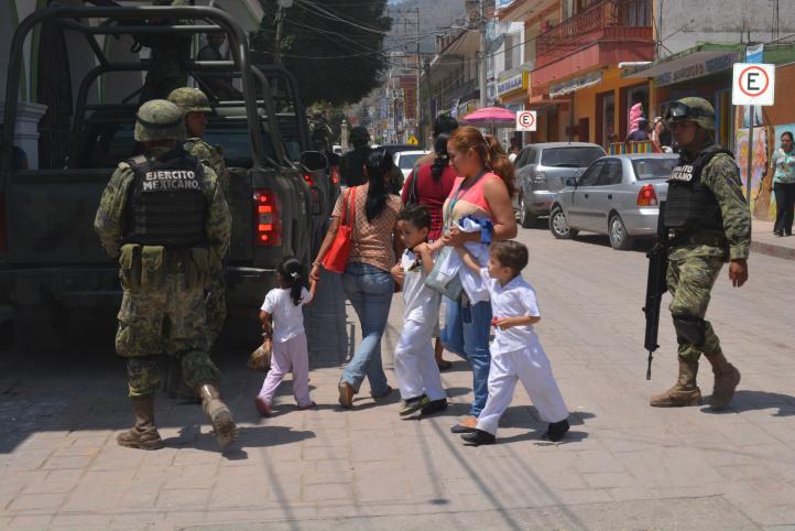 Reportan desaparición de 13 personas en Chilapa