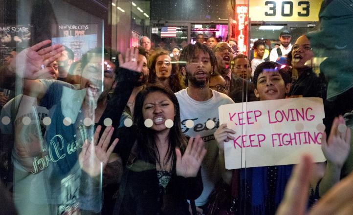 EU: Miles protestan en varias ciudades en apoyo a Baltimore