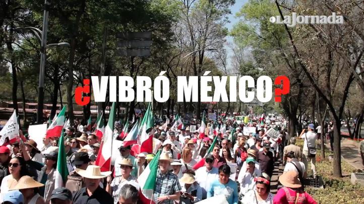 ¿México vibró?