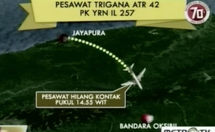 Presidente de Indonesia ofreció su pésame a los deudos del avión siniestrado