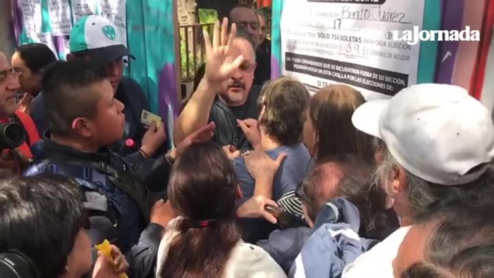 Cierran casilla especial en Benito Juárez