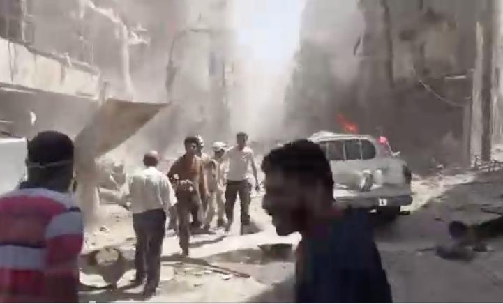 Mueren al menos 15 activistas en ataques aéreos sobre Alepo