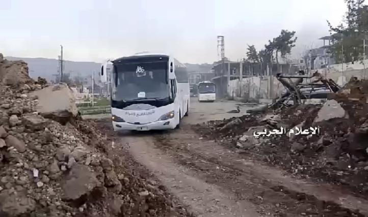Se reanuda evacuación en Siria