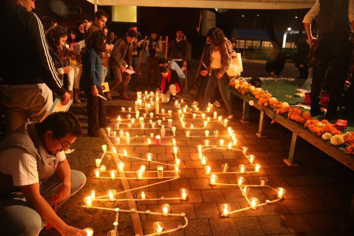 Jornada nacional de lucha por los normalistas de Ayotzinapa