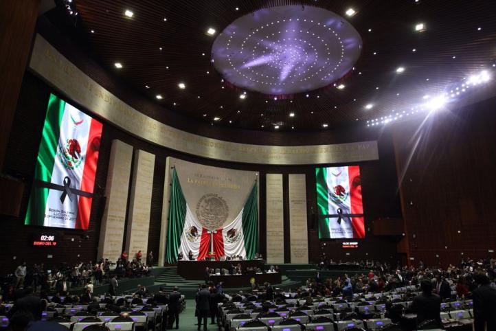 Reanudan actividades en la Cámara de Diputados