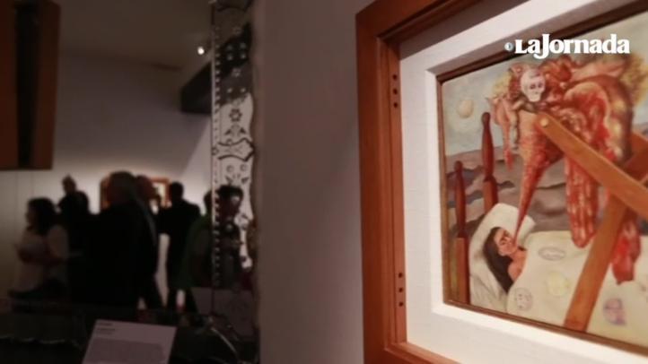 """Inauguran la exposición """"Diego y Frida: 25 años en El Olmedo"""""""