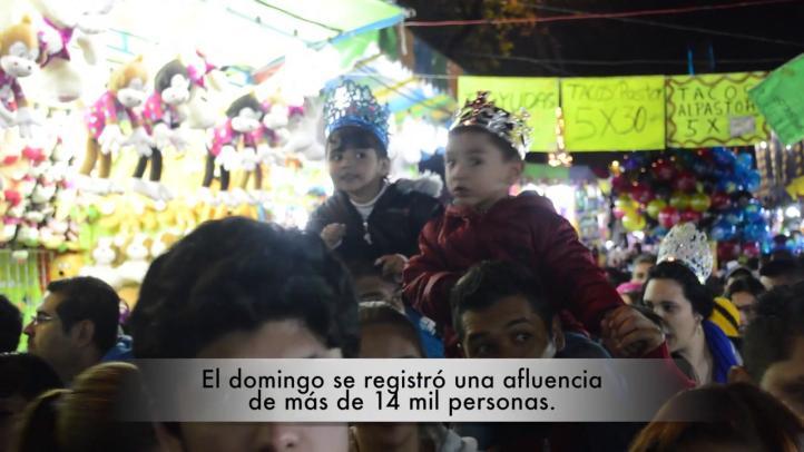 Los Reyes Magos en la Ciudad de México