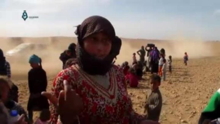 Aumenta el número de refugiados en Raqqa