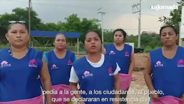 """Tabasco: costureras se declaran en """"resistencia civil"""" contra gobierno"""