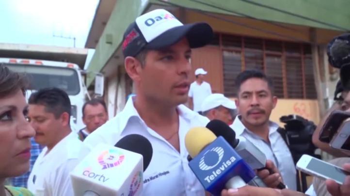 Inicia reconstrucción en Juchitán