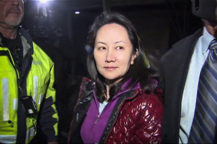 Ejecutiva china de Huawei, en libertad bajo fianza