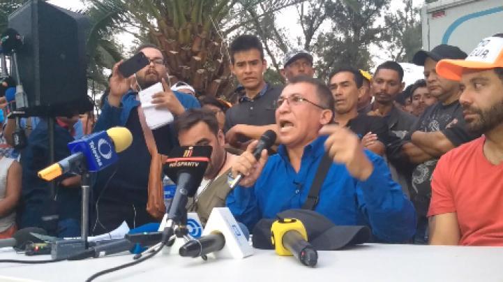 """""""Yo no organicé la caravana migrante"""": Bartolo Fuentes"""