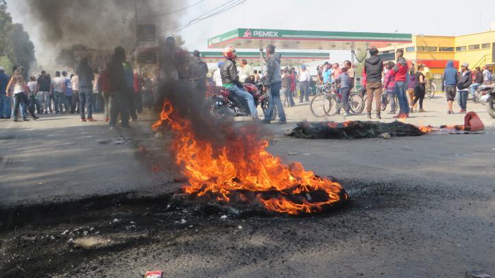 Crecen las protestas contra el gasolinazo