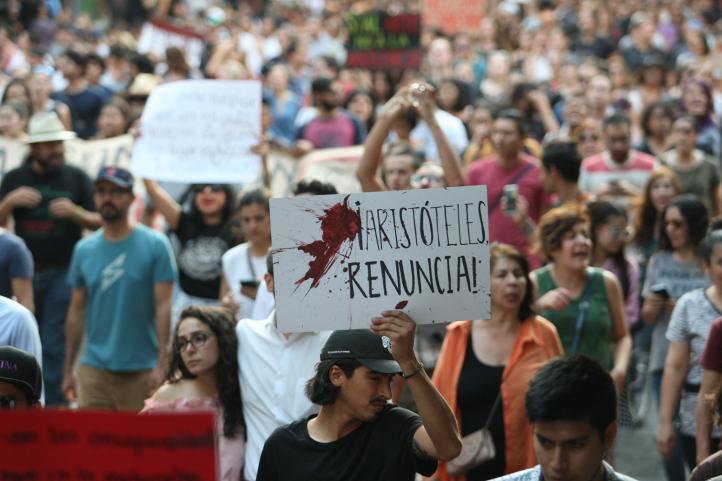 Movilizaciones de condena en Guadalajara