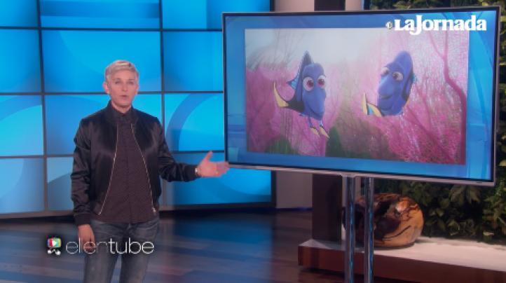 Ellen DeGeneres usa al pez Dory para criticar las políticas de Trump