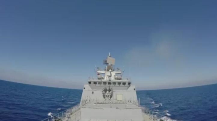 Buques rusos atacan a extremistas del EI desde el Mediterráneo