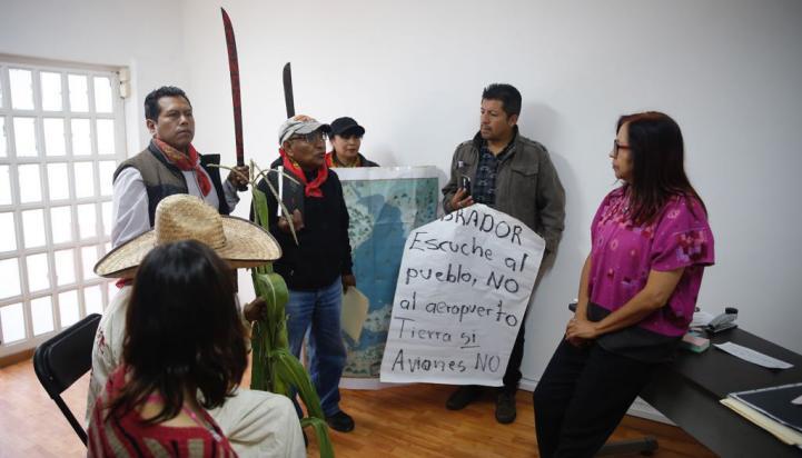 Campesinos de Atenco piden audiencia a AMLO