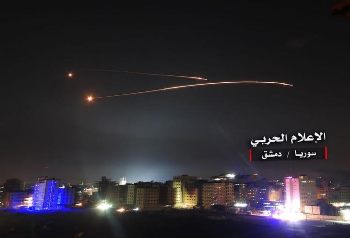 Israel ataca instalaciones militares iraníes en Siria