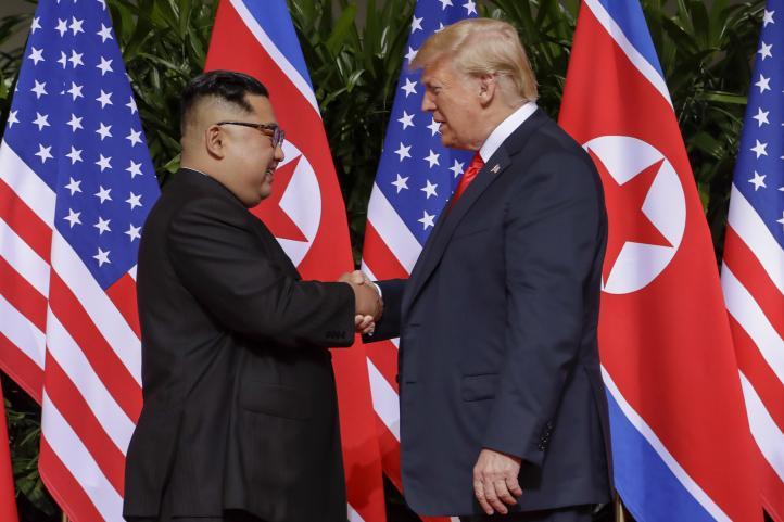 Inicia histórica reunión entre Trump y Kim Jung Un