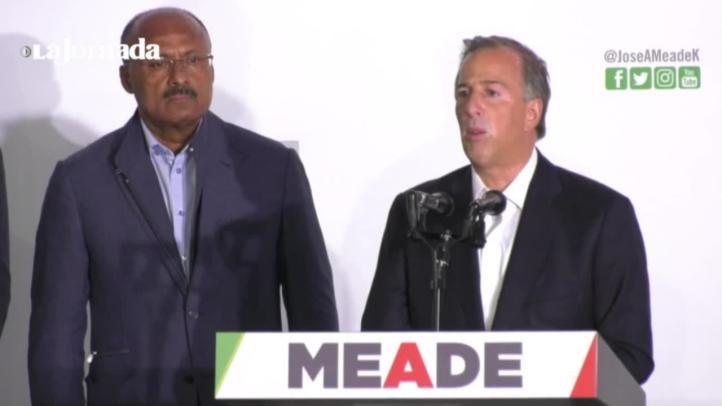Meade reconoce derrota y admite que tendencias favorecen a AMLO