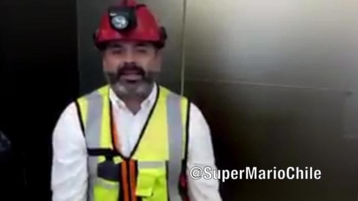 Minero rescatado en Chile envía mensaje a niños tailandeses