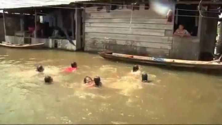 'La Venecia de Las Amazonas' en Perú