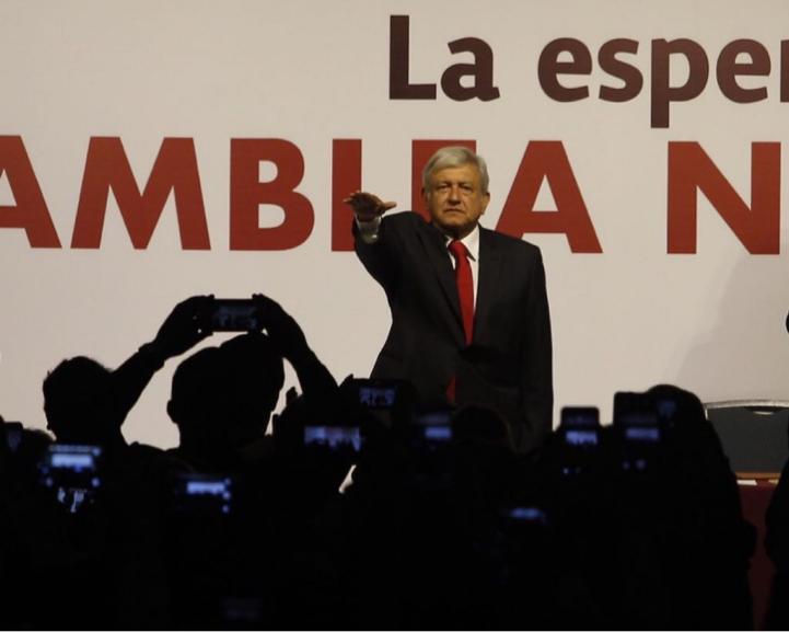 Voy a terminar con la corrupción: Andrés Manuel López Obrador