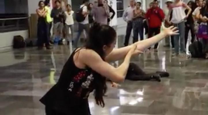 Realizan el Festival de danza en el Metro de la Ciudad de México