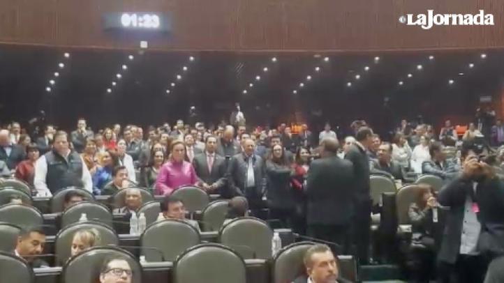 """""""¡Eh… puto!"""", gritan diputadas priístas a legislador de Morena"""