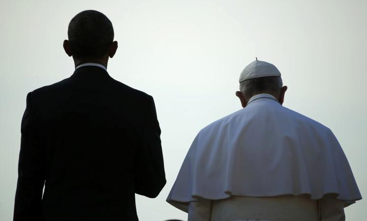 El Papa habla de medioambiente, pobreza e inmigrantes en la Casa Blanca
