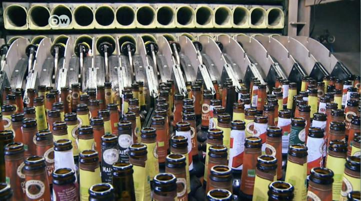 Crece la fabricación cerveza orgánica en Alemania