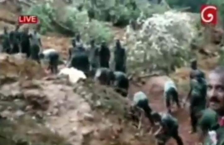 Deslave en Sri Lanka sepulta a cientos de personas