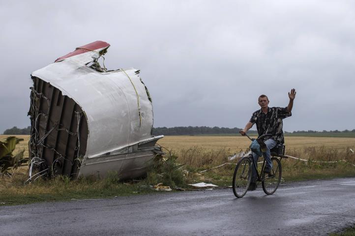 Confirma informe que vuelo de Malaysia Airlines fue derribado en el aire