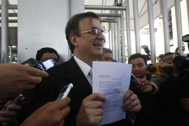 Solicita Ebrard a CNDH garantizar derecho de audiencia por L-12