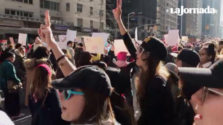 Marcha de las Mujeres 2018: Cientos de miles expresan su repudio a Trump en EU