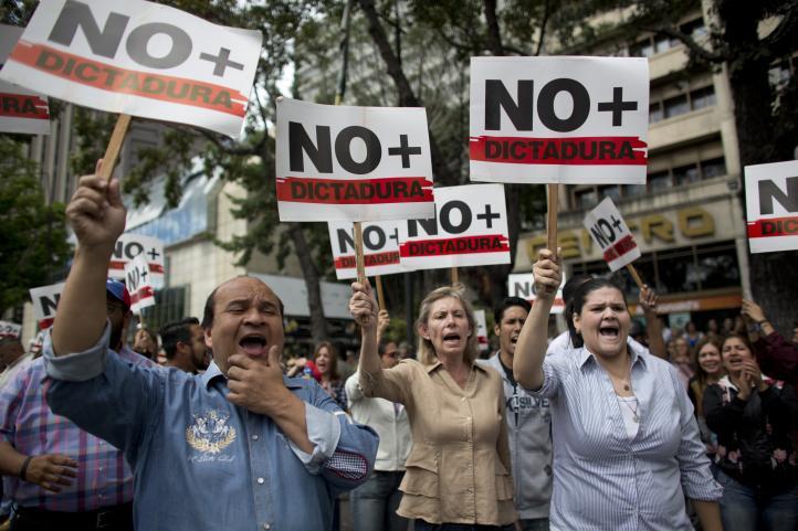 En Venezuela, jornada de protestas opositoras a Maduro