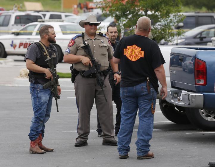Waco en alerta tras tiroteo de motociclistas